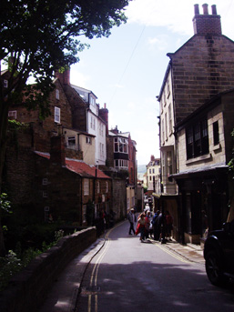 Robin Hood's Bay Street Photo