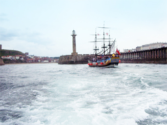 Whitby Boat trip Photo