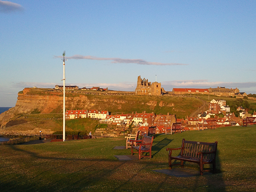 Whitby in the Evening Sun Photo