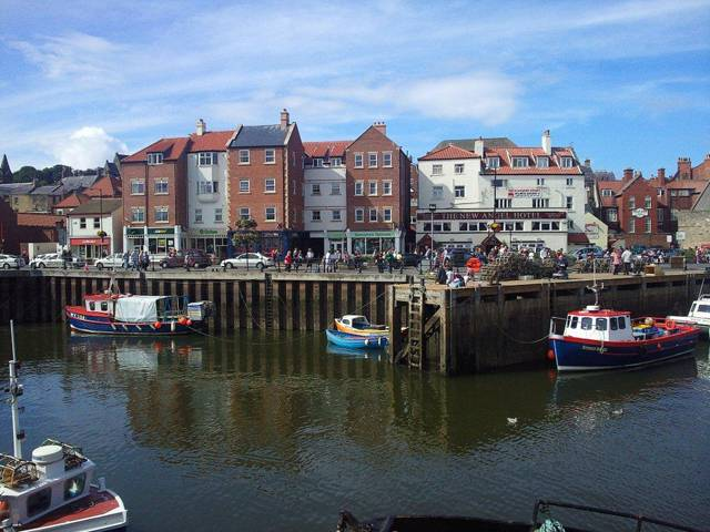 Whitby Harbour photograph