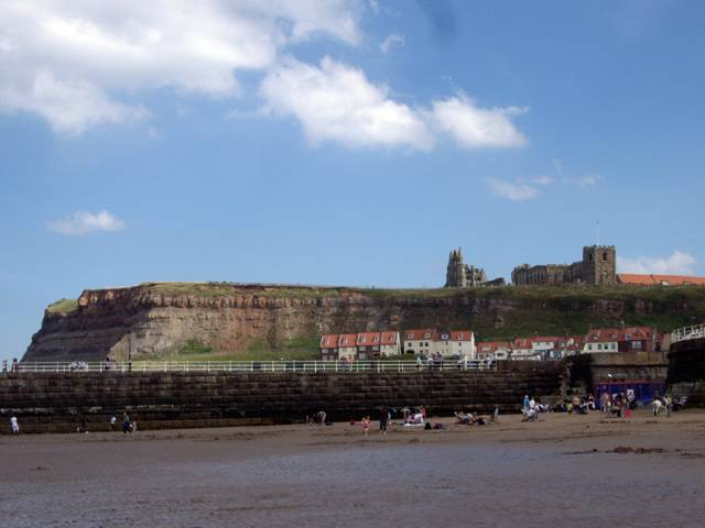 West Cliff Beach, Whitby UK photograph