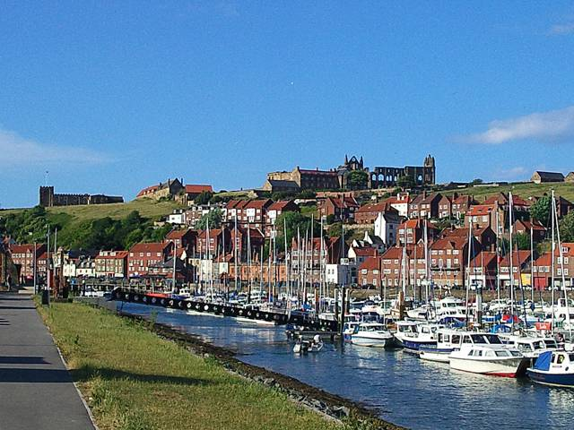 Whitby Marina photograph