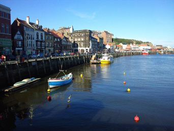 Whitby Harbour and Pier Road Photo
