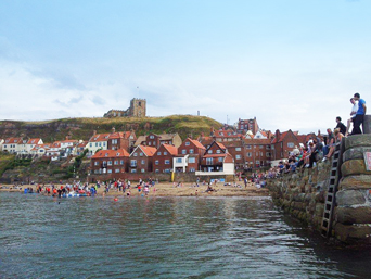 Boat Races at the Whitby Regatta Photo