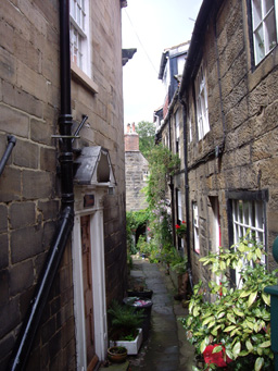 Alley in Robin Hoods Bay Photo
