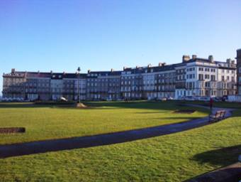 Royal Crescent, West Cliff Whitby Photo
