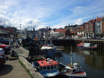 Whitby Town Centre and Harbour Photo