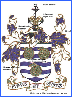 Town of Whitby Coat of Arms Photo