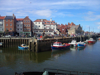 Whitby Harbour Boat trip Photo