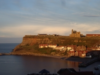 Whitby Town Sunset photo