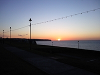 Whitby Sunset photo
