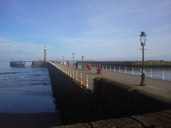 Whitby's West Pier Photo